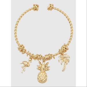 Gold Pineapple Bracelet🎀
